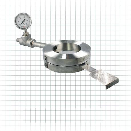 Holder para disco de ruptura de acero inoxidable